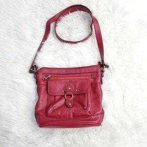BOC Vegan Leather Crossbody Adjustable Strap Bag